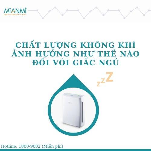 máy lọc không khí trong phòng ngủ