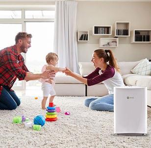Những lợi ích tuyệt vời khi sử dụng máy lọc không khí trong nhà