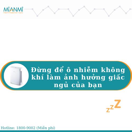 máy lọc không khí phòng ngủ