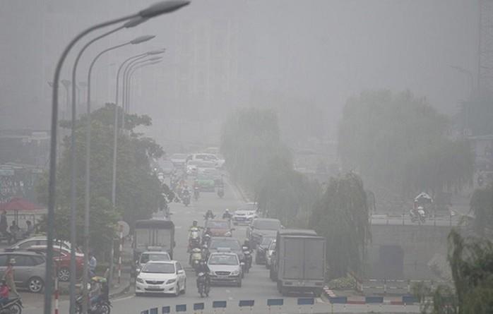 Tình trạng ô nhiễm không khí tại thành phố lớn