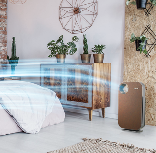 Có nên dùng máy lọc không khí trong phòng ngủ hay không?