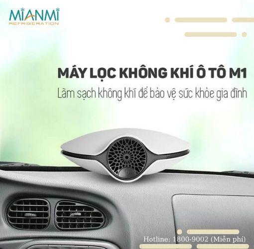 Máy lọc không khí xe ô tô - Chuyên gia khử mùi hiệu quả