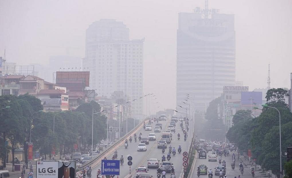 Không khí bị ngoài trời bị ô nhiễm nghiêm trọng